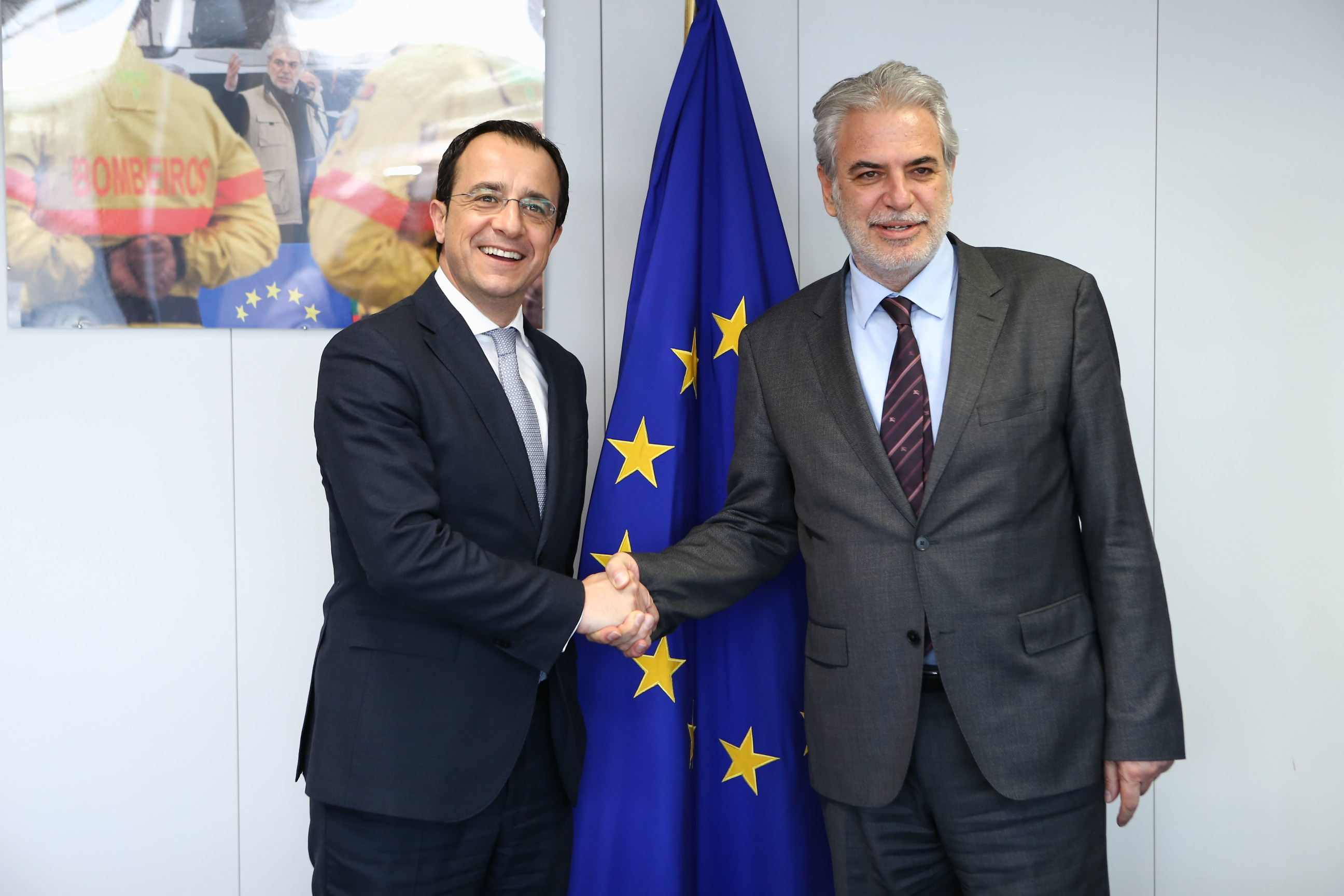 Foreign Minister Christodoulides participated in the EU General Affairs Council