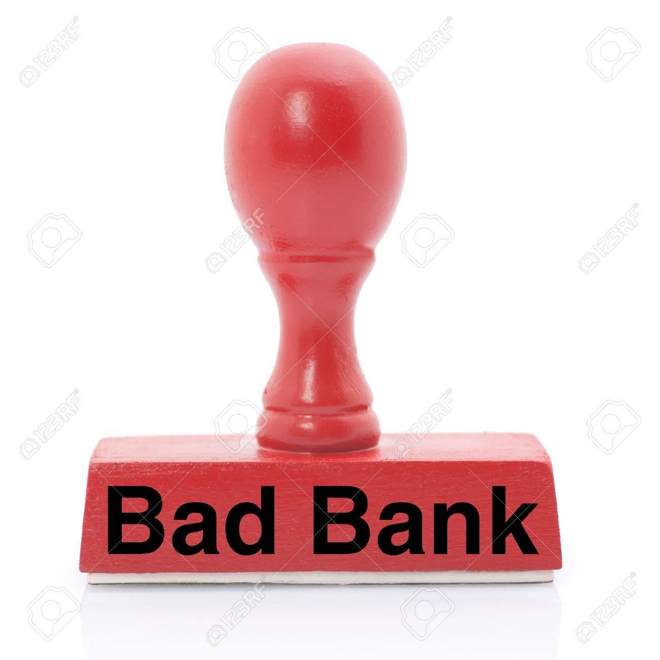 Nearer a bad bank