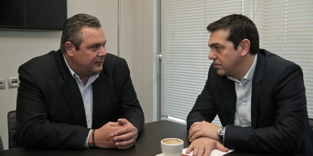 Rumors Tsipras, Kammenos rift may spell end of ruling coalition