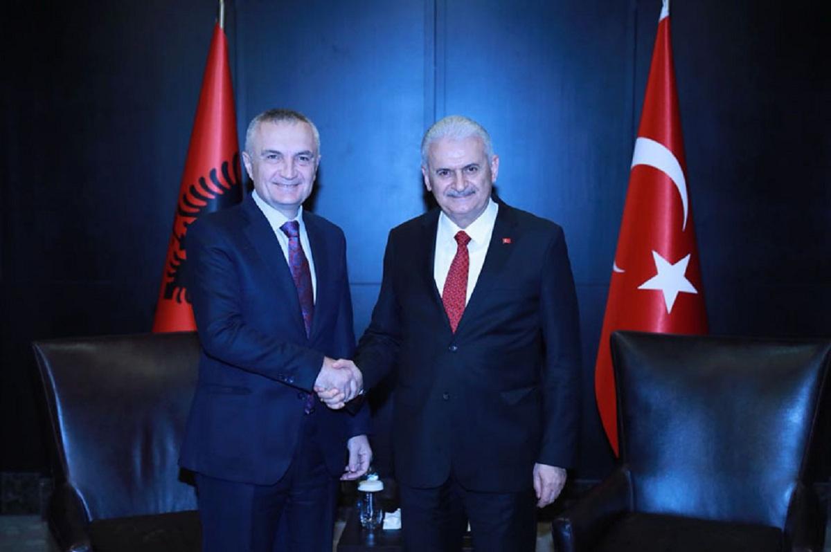 President Meta meets Turkish PM, Binali Yildirim