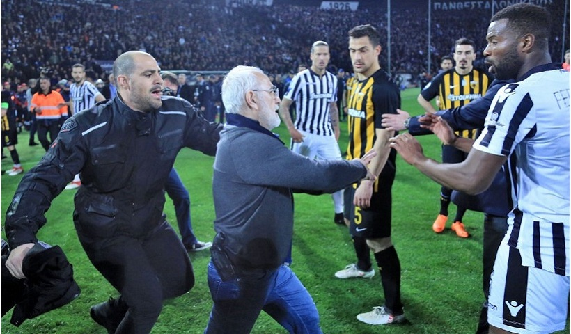 Fallout from Greek football violence continues