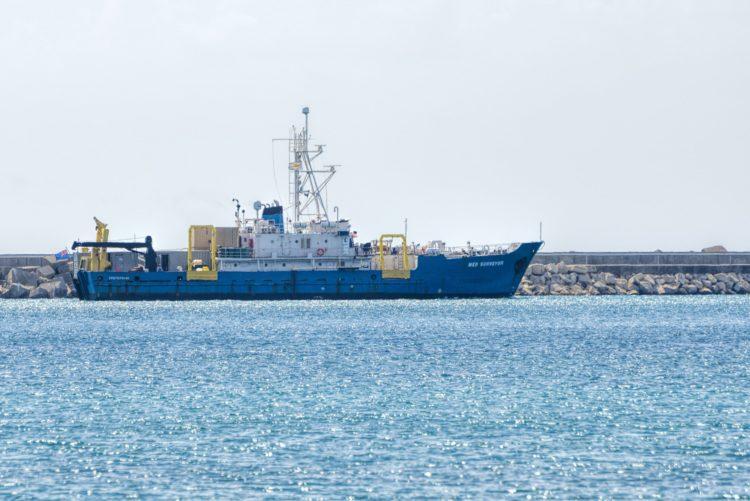 Exxon Mobil's second vessel arrives at Limassol Port