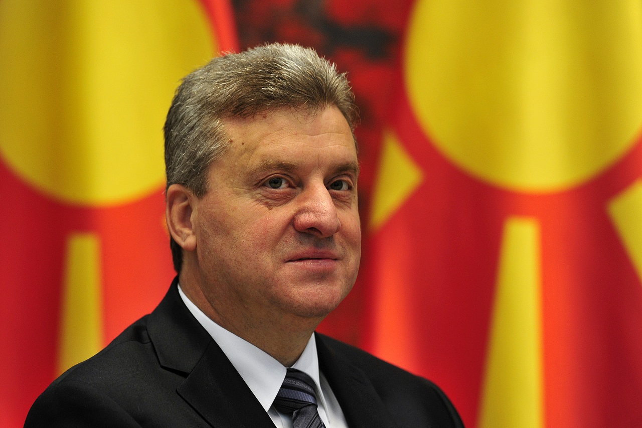 Gjorge Ivanov denies signing the decree on the Law on Languages