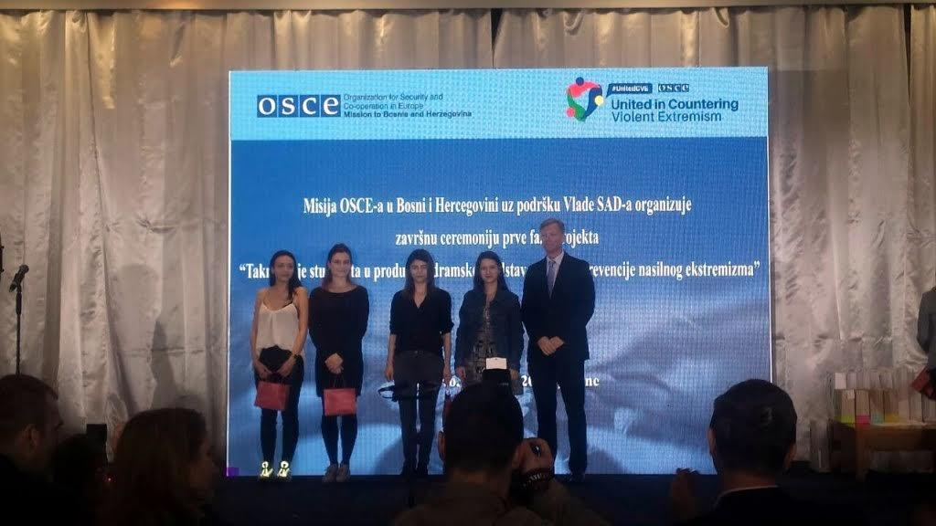 OSCE awards best theatre plays on battle against violent extremism
