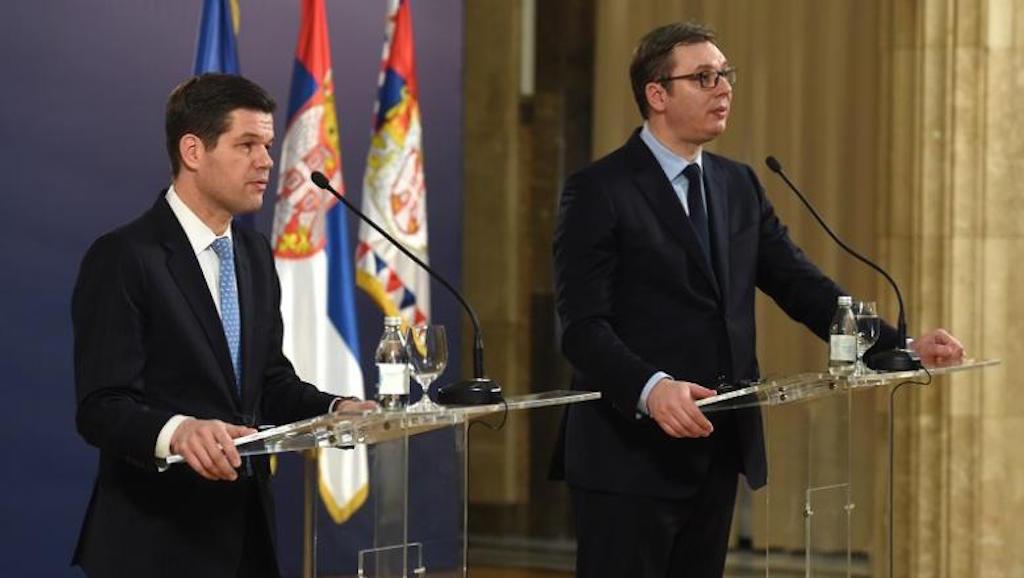 Belgrade cannot accept 'humiliation', Vucic says