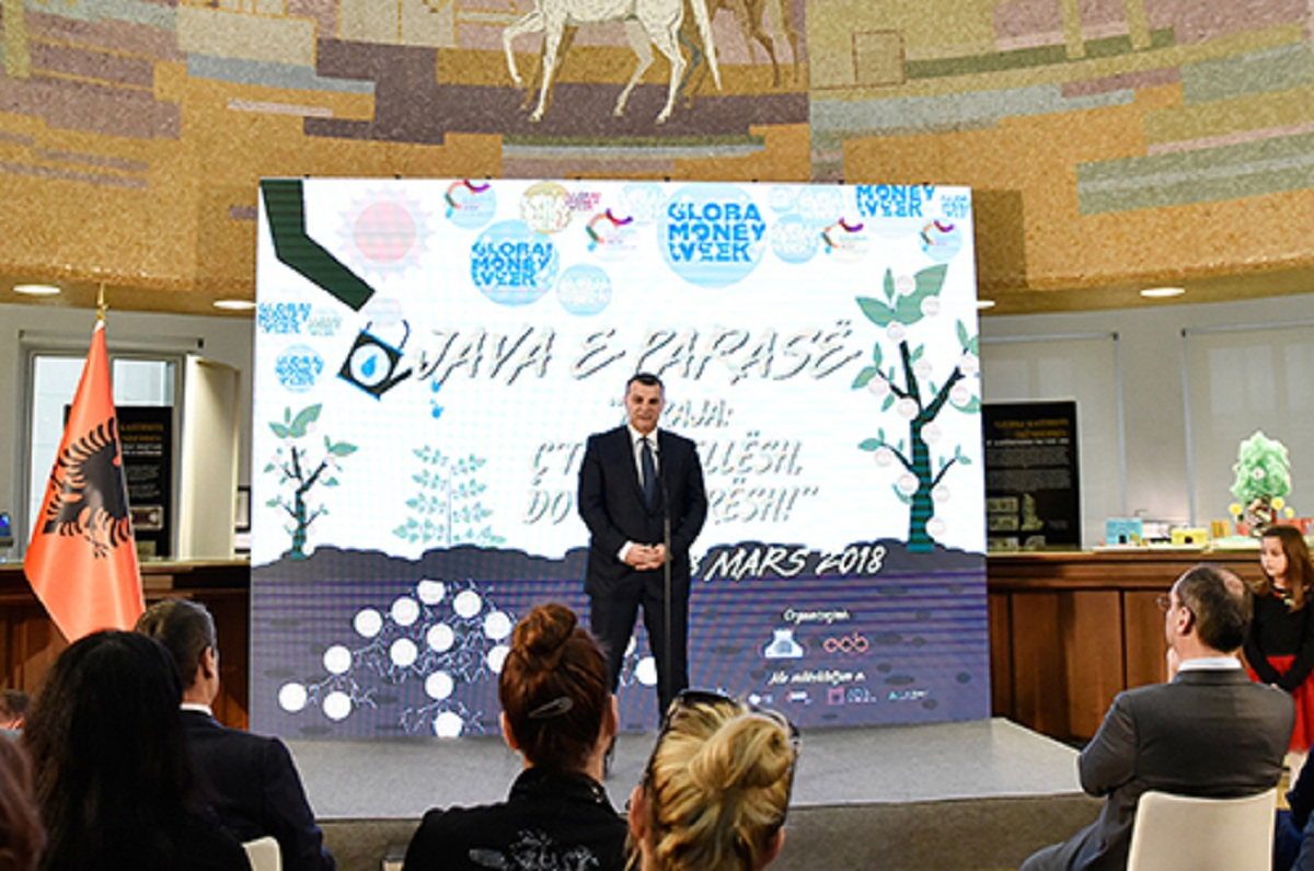 Money week starts, governor Sejko: The young generation must know its values