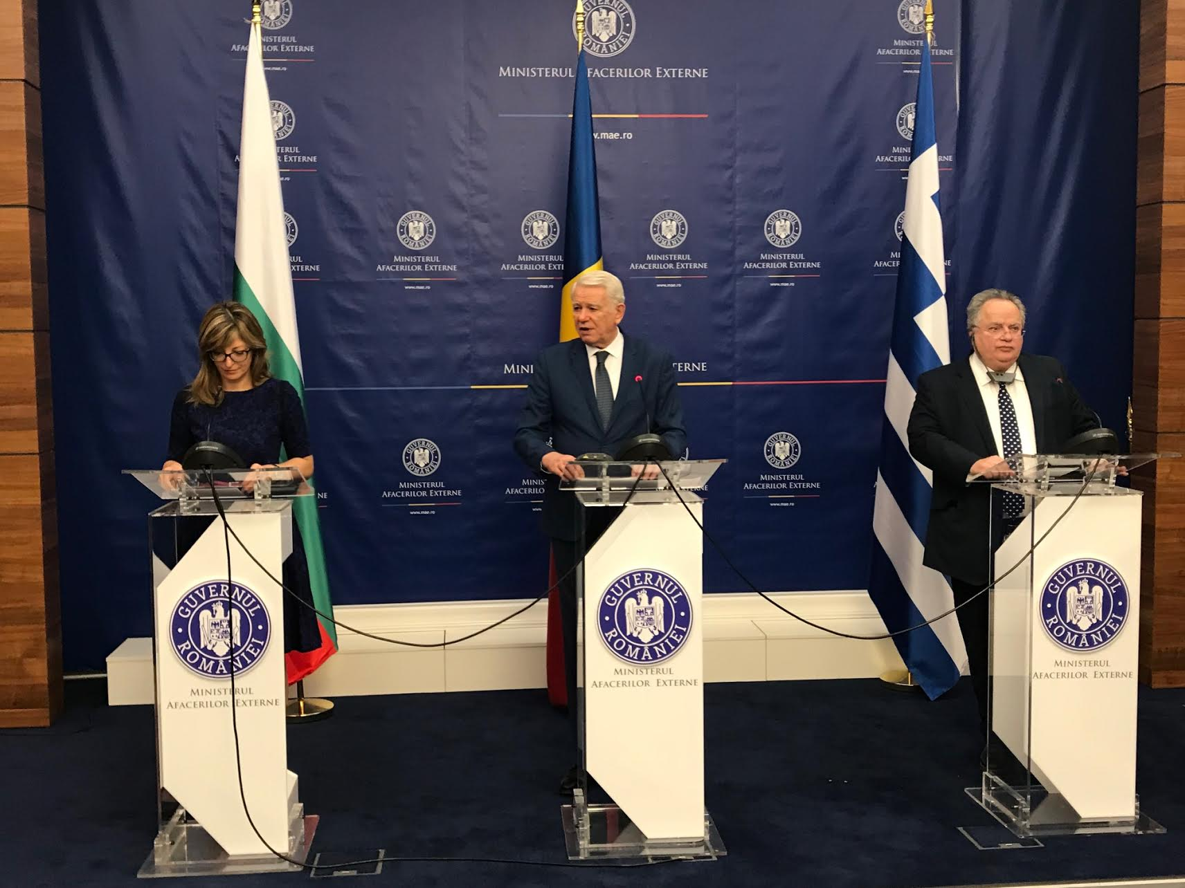 Joint Declaration of the 10th Trilateral Meeting of the FMs of Bulgaria, Greece and Romania