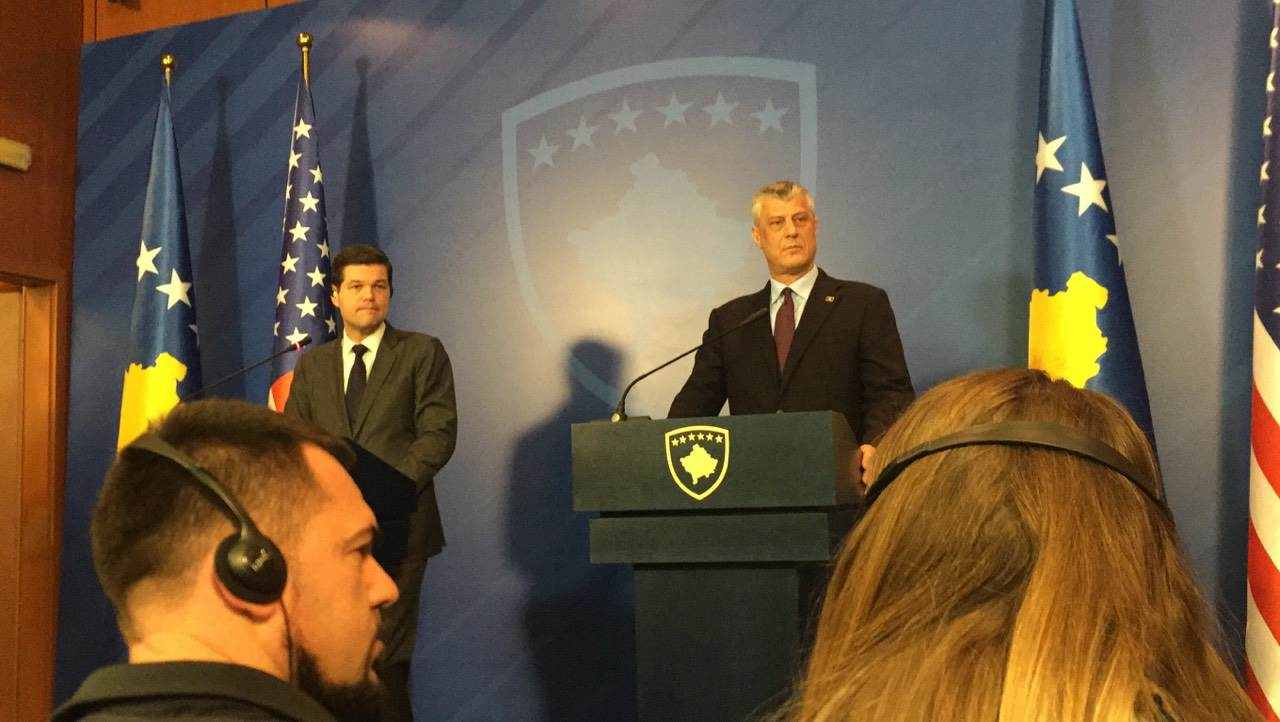 Mitchell: I'm not here for a new plan on Kosovo