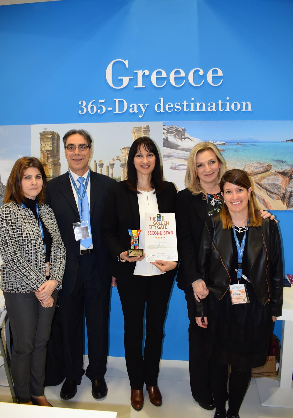 GNTO's video 'Greece-A 365-DayDestination' receives one more international prize