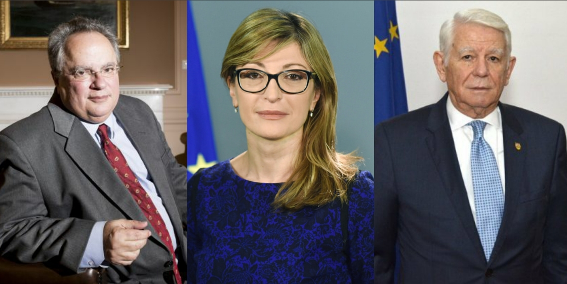 Trilateral Bucharest meeting of the Greek, Bulgarian and Romanian FMs, on March 12