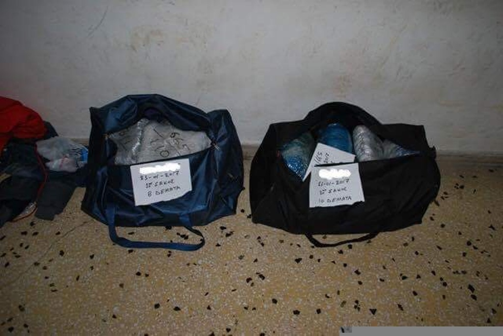 Three Albanian nationals arrested for attempting to smuggle drugs on the FYROM-Greece border
