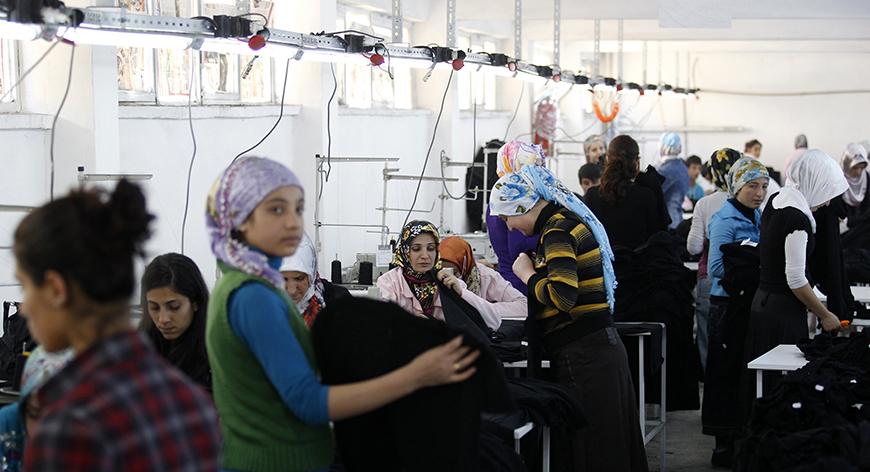 Turkish female workforce