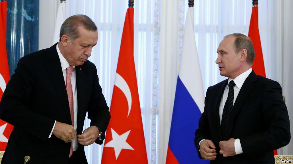 Putin-Erdogan discuss Afrin over the phone
