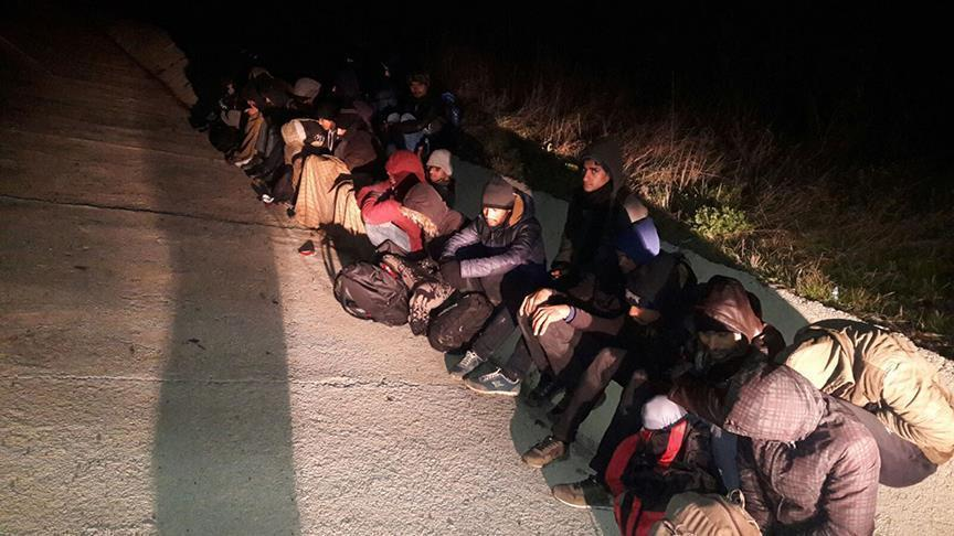 More than 1,000 undocumented persons busted in Turkey over the last 48hrs