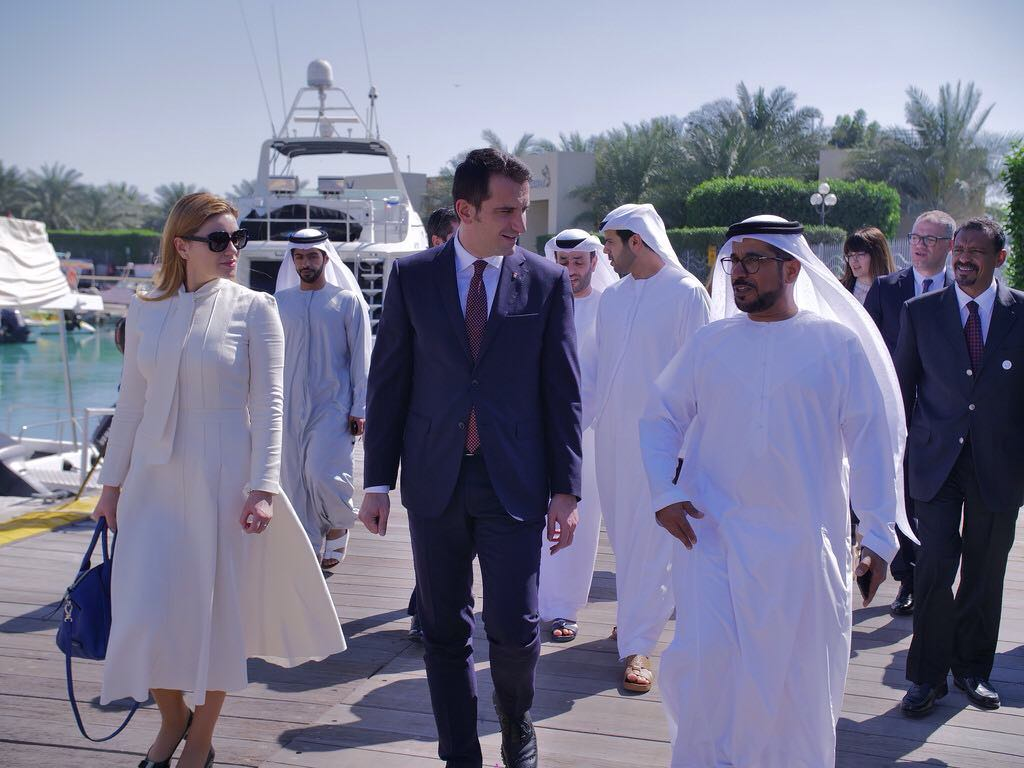Mayor of Tirana in Abu Dhabi for new projects