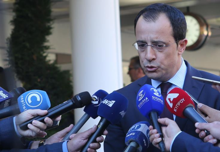 Cyprus will face any provocation with calm, prudence and determination, Chistodoulides says