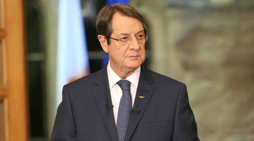 Calmness, prudence and correct diplomatic actions is what is needed, President Anastasiades says