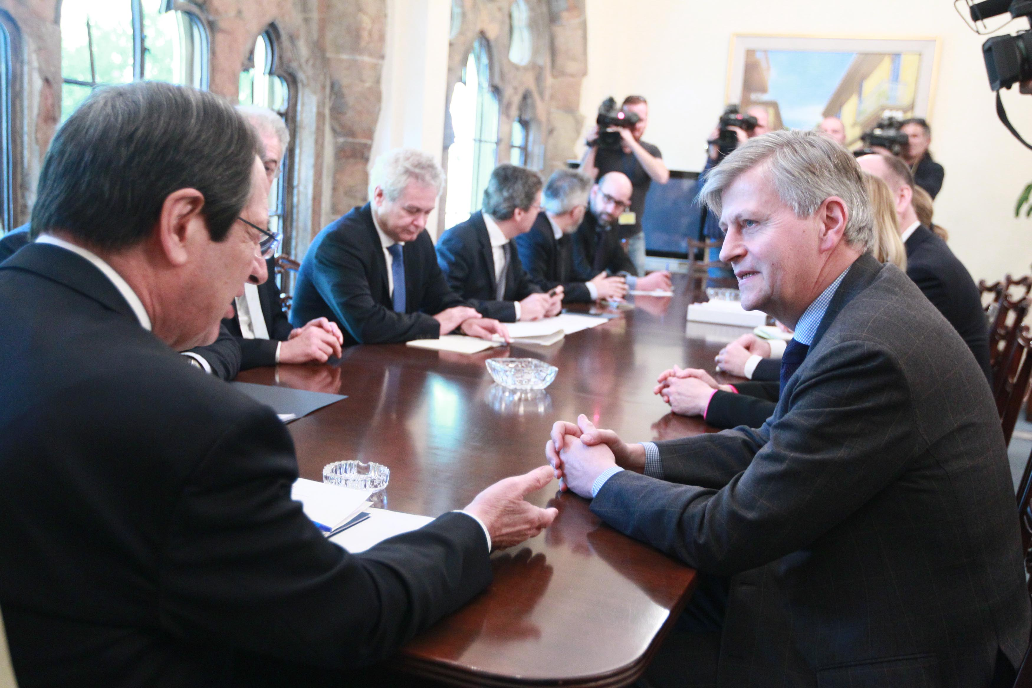 President Anastasiades received the UN Assistant Secretary-General responsible for peacekeeping operations