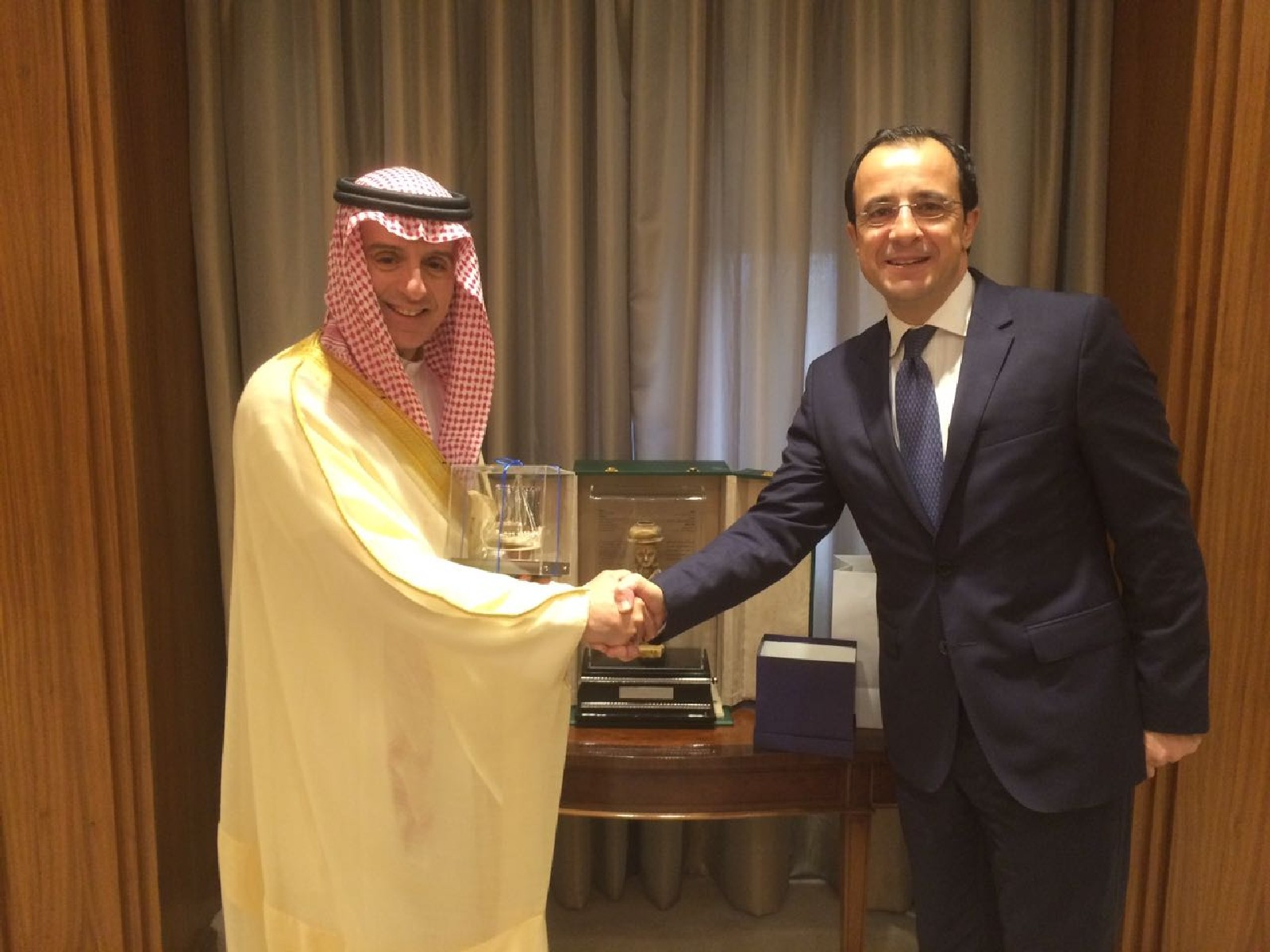 Cyprus' and Saudi Arabia's Foreign Ministers strengthen cooperation with signing of bilateral agreements in Riyadh