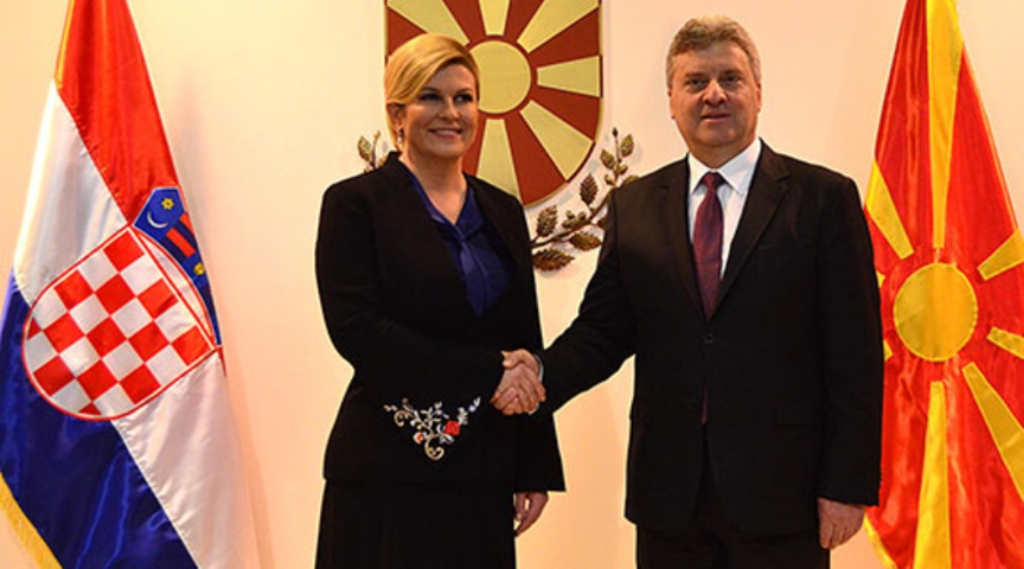 Grabar-Kitarovic and Ivanov: Pending issues between neighbors should not act as an obstacle for integration