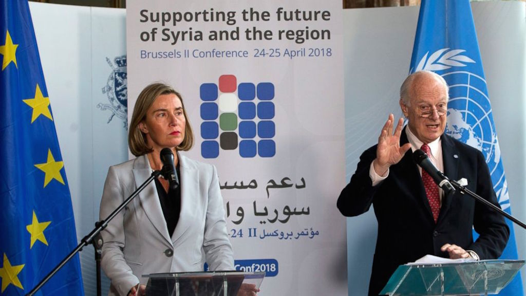 Turkey among the countries urged by the EU to deliver onSyria promises
