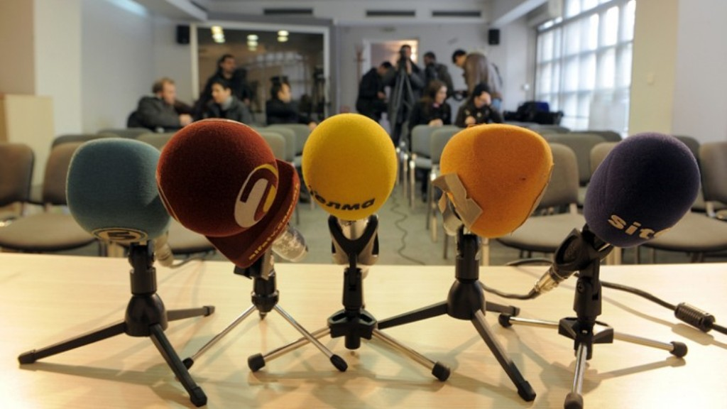 Reporters without Borders: FYROM ranks 109th for the freedom of media