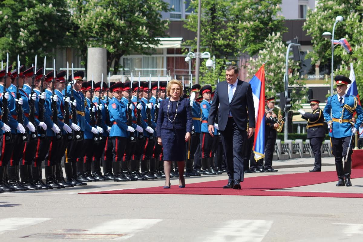 Matviyenko's visit to BiH was on the brink of a diplomatic incident