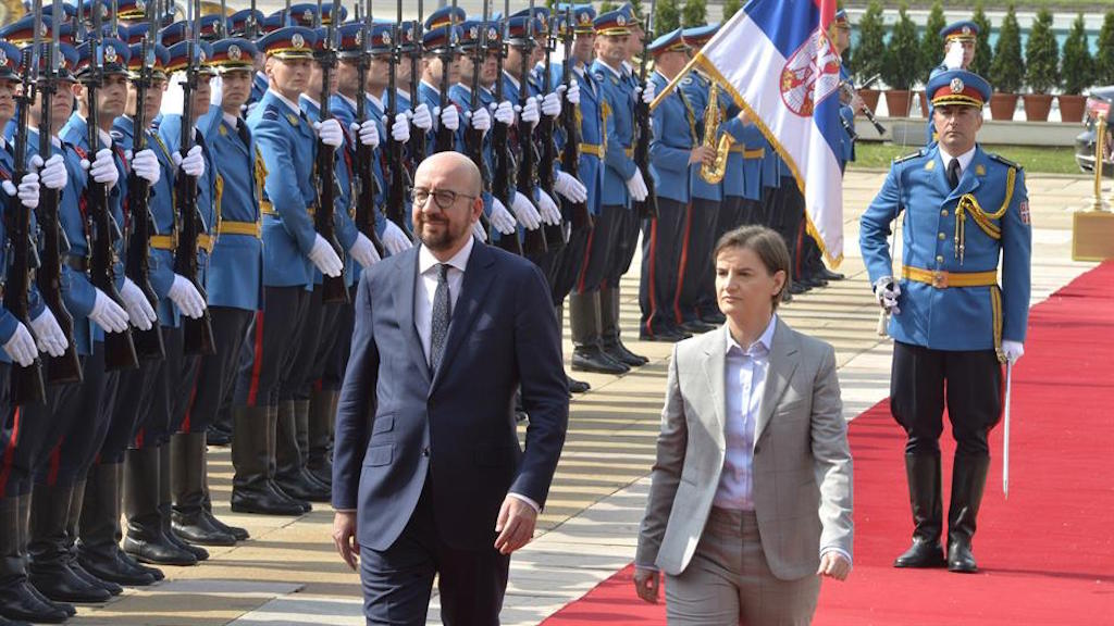 EU to respect differences in the Balkans, Charles Michel says