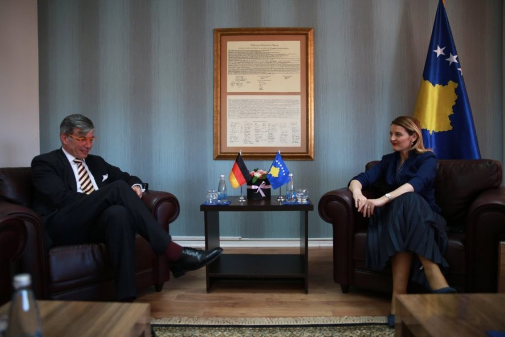 Germany encourages Kosovo to fight crime and corruption