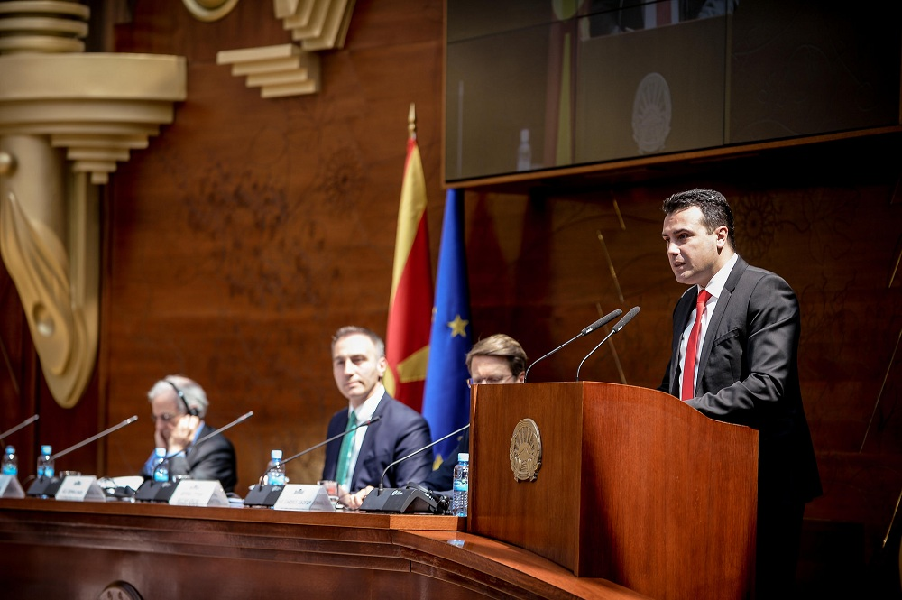 Zaev announces the creation of the team that will lead the EU negotiations