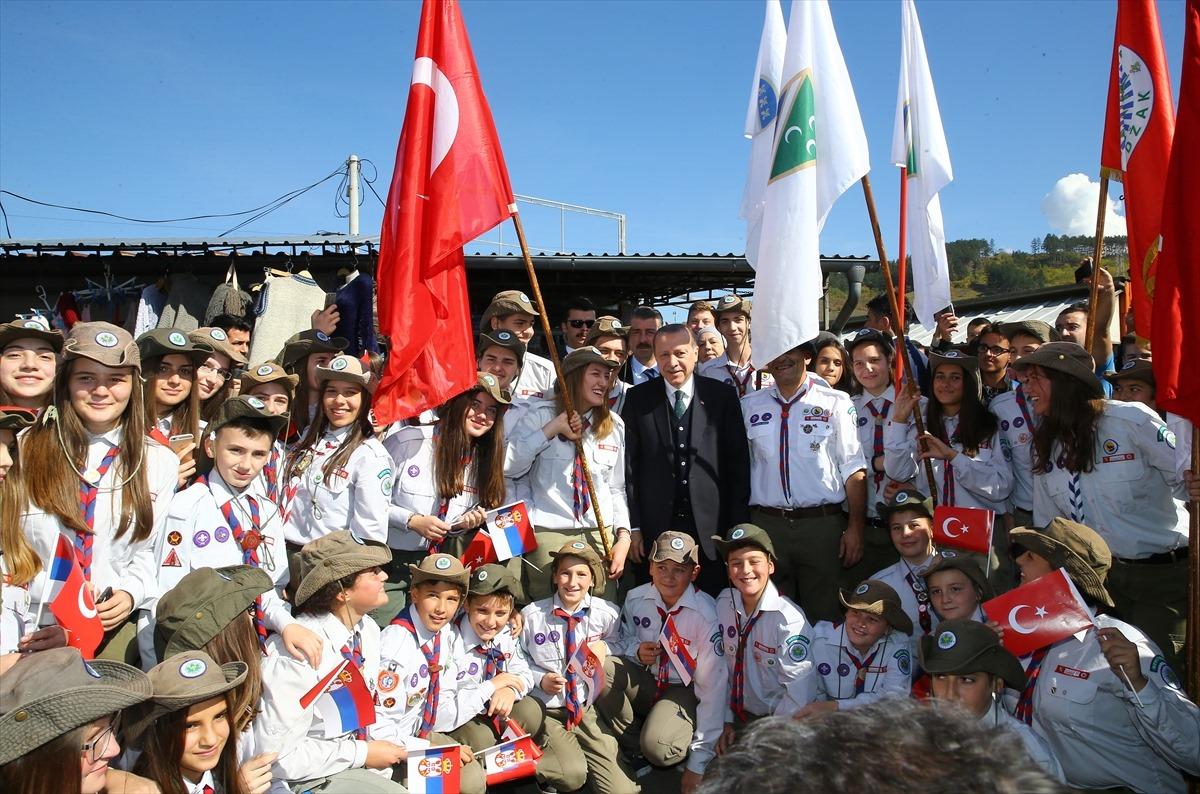 Erdogan honorary citizen of Novi Pazar