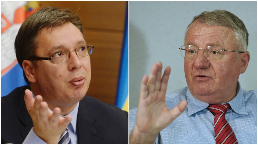 """Seselj's hooliganism """"blessed"""" by Vucic"""