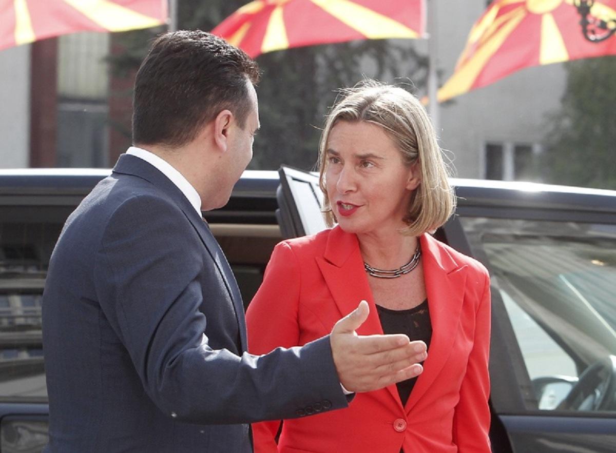 Mogherini: FYROM is back on track