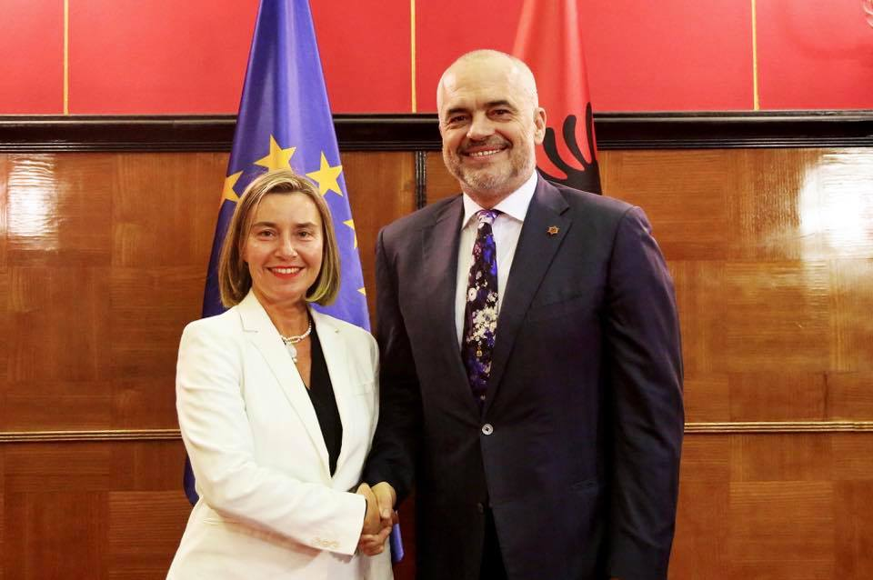 Mogherini-Rama: Reforms in Albania led to the opening of EU negotiations