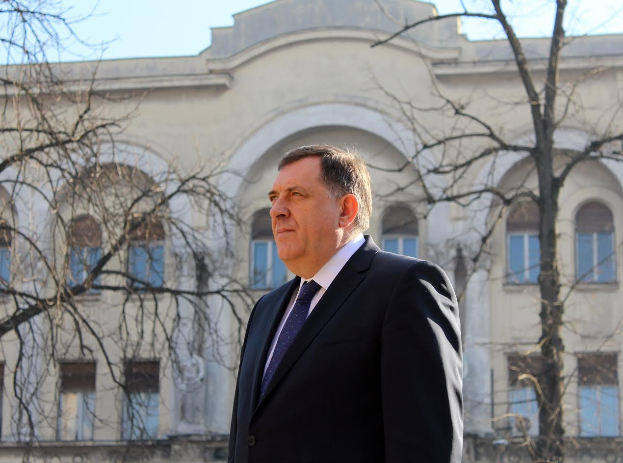 EU sanctions for Milorad Dodik in the next few weeks?