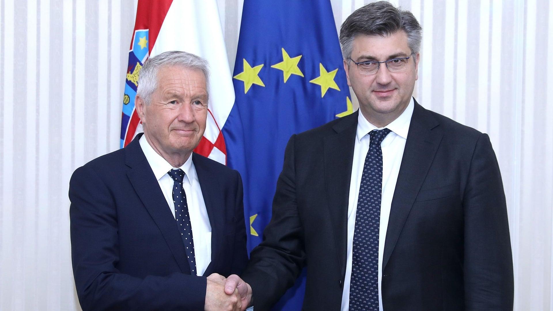 National minorities' rights: Croatia praised by CoE's Jagland