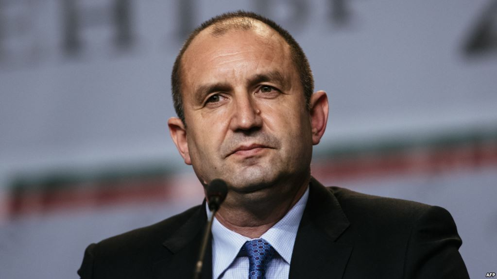 Bulgaria's Radev describes the U.S-led airstrikes' effect on Syria as 'negligible'