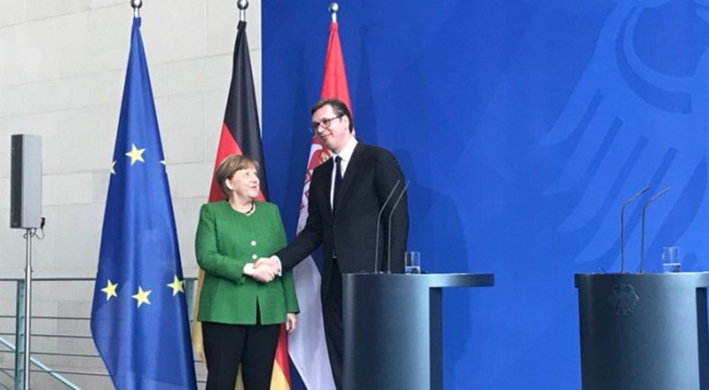 Vucic in Berlin: The powerful countries should assist for the solution of the contest between Kosovo and Serbia
