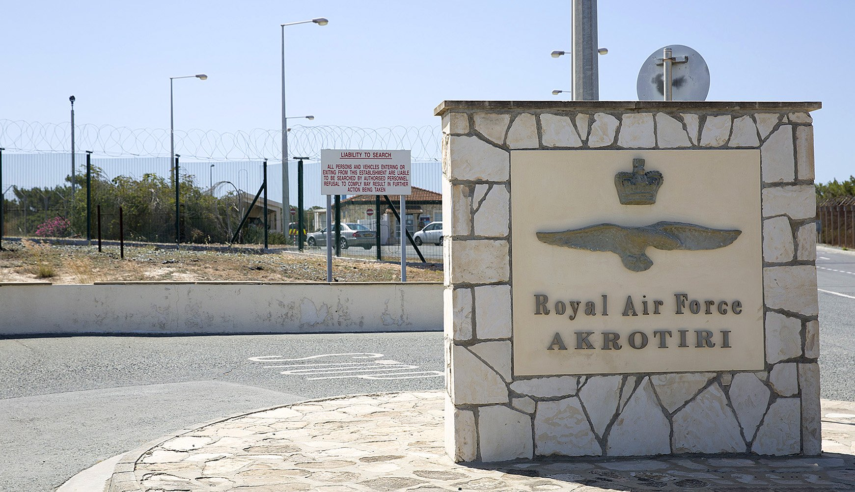 Britain asks Cyprus for the closure of the airspace around RAF Akrotiri
