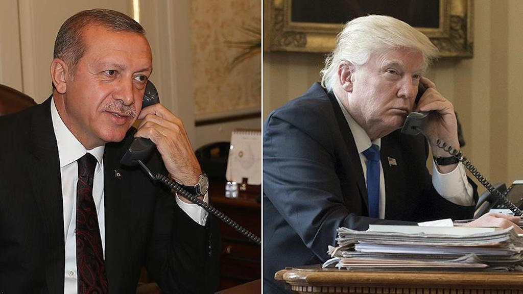 Erdogan – Trump talk about Syria over the phone