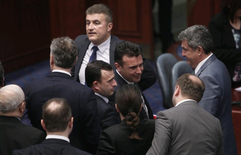 Zaev's government survives the vote of no confidence