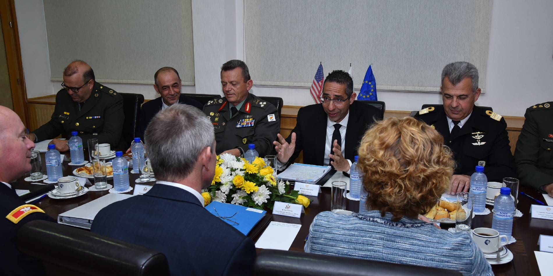 Cypriot Defense Minister met with US Assistant Secretary of Defense for Europe and NATO