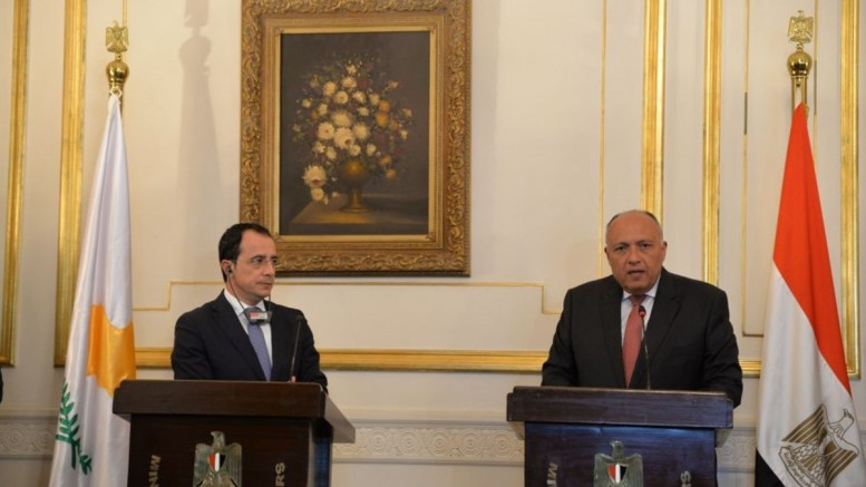 FM Christodoulides completes working visit to Egypt