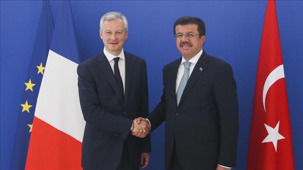 Turkey-France set higher goal fortrade volume by 2019