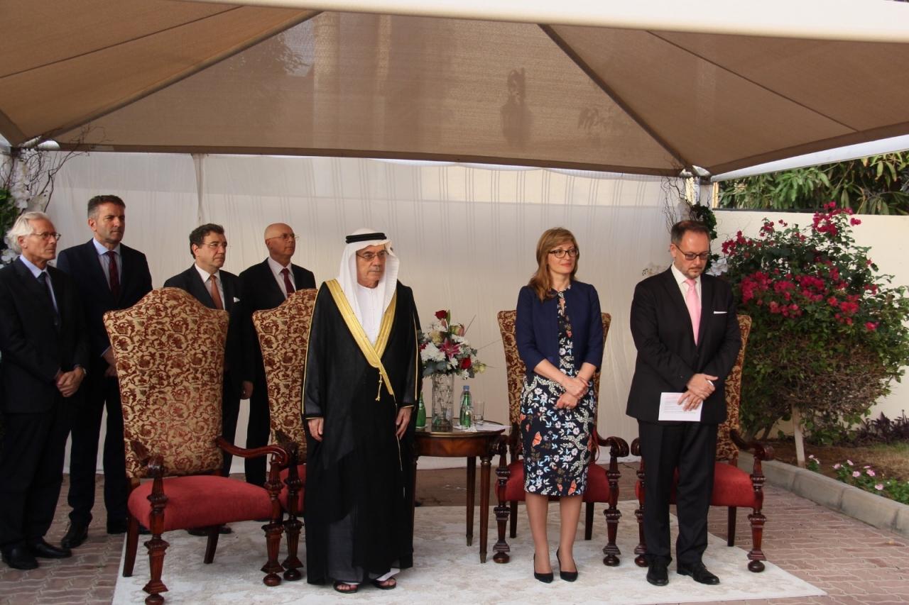 Foreign Minister Zaharieva opens Bulgarian embassy in Abu Dhabi