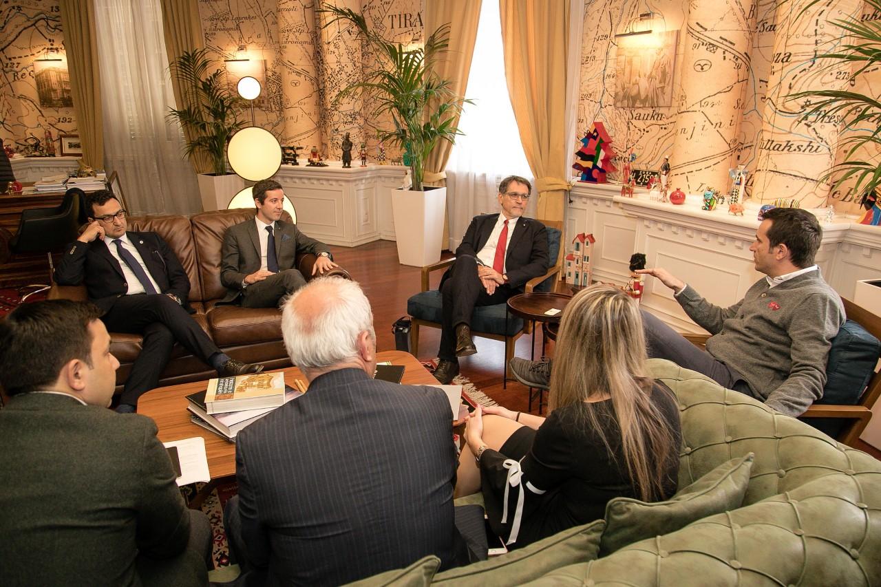 Mayor of Bologna receives Tirana's Key
