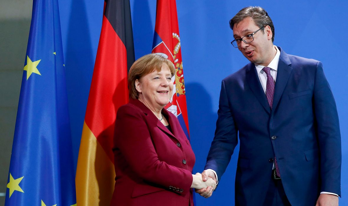 Vucic to travel to Berlin for another meeting with Merkel on Friday