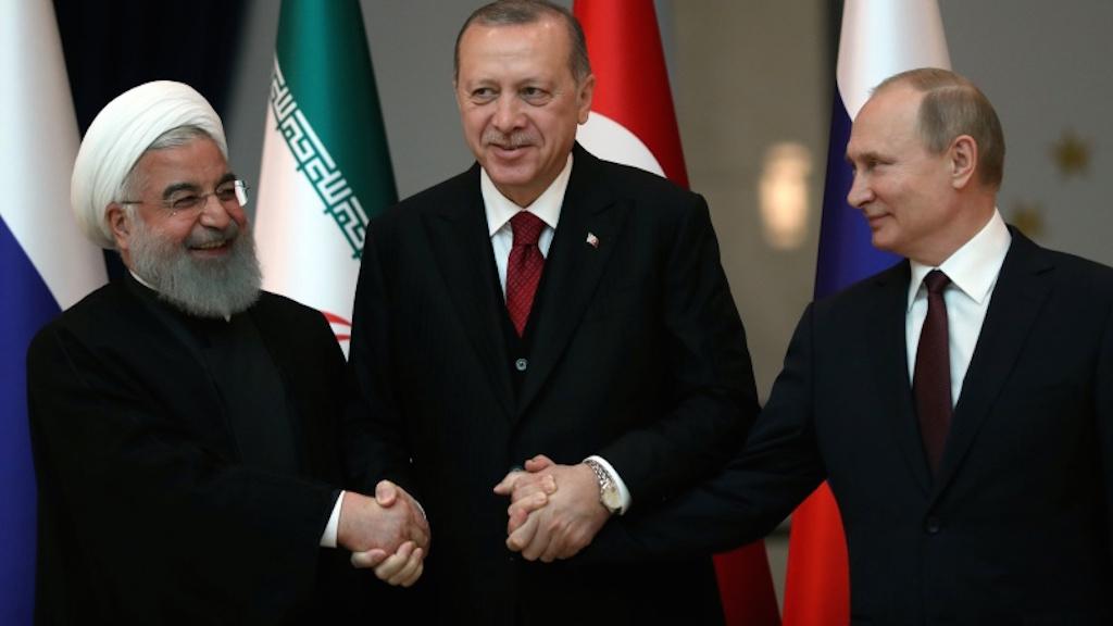 Erdogan, Putin, Rouhani against separatism in Syria