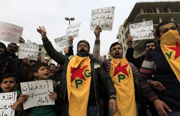 Kurds seek UK support over northern Syria