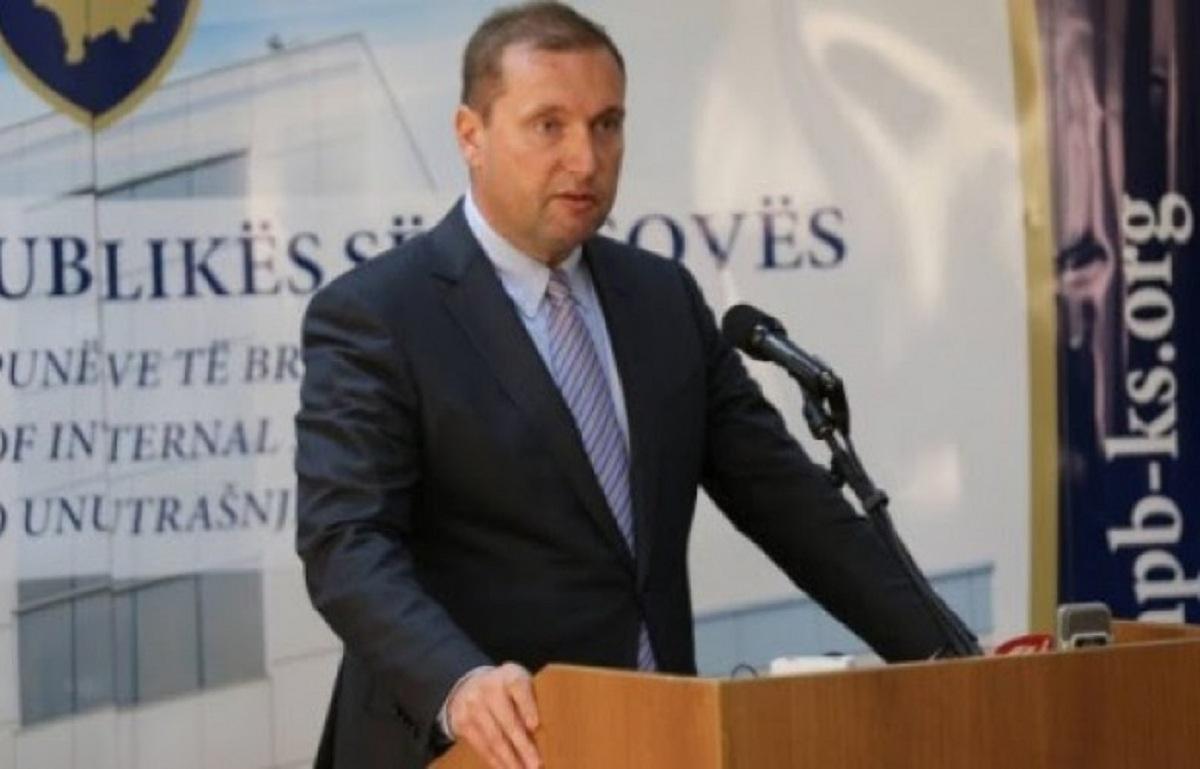 Kosovo, Interior minister resigns